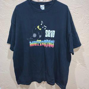 2010 MuttsStock WoodStock Music Festival Shirt
